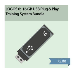 LearnLogos 6 Training - 16GB USB Only
