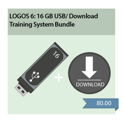 LearnLogos 6 Training - 16GB USB + Download