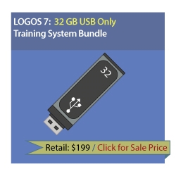 LearnLogos 7 Training - 32 GB USB Only